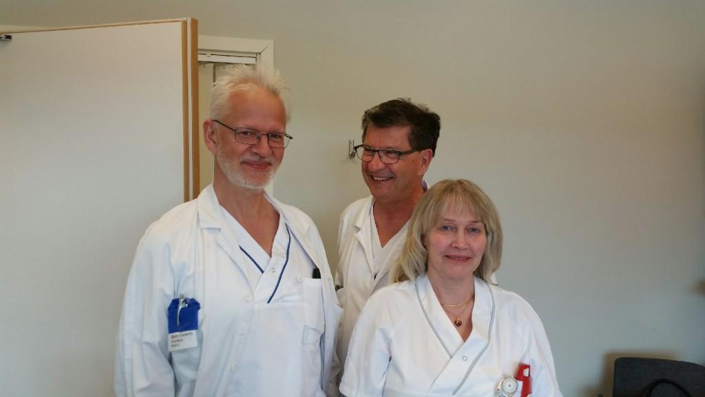 Skövde inkluderar patient 50. (Privat bild)